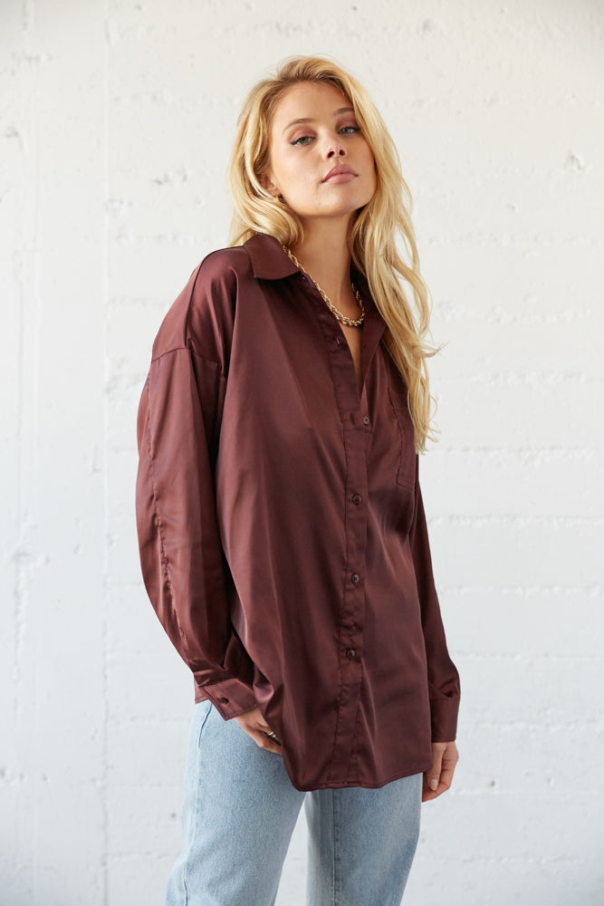 long sleeve button up shirts with pointed collar.
