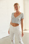 Simple Living Crop Top