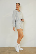 Carrie Shorts In Sky Blue