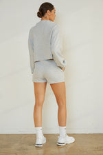 Carrie Shorts In Heather Grey