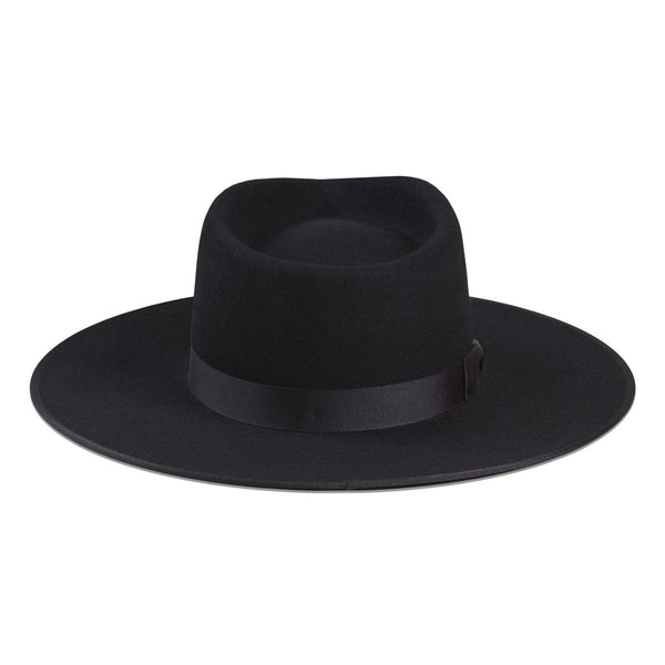 Lack Of Color Noir Rancher Hat
