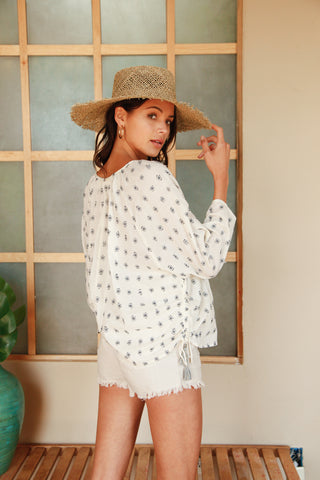 Set Sail Tassel Blouse