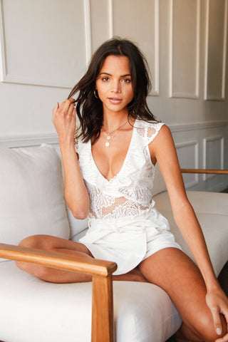 Native Daughters Christine Lace Bodysuit