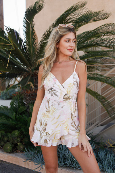 Native Daughters Maui Wrap Romper