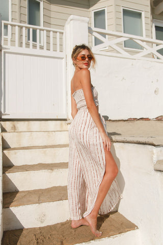 Boardwalk Striped Pant Set