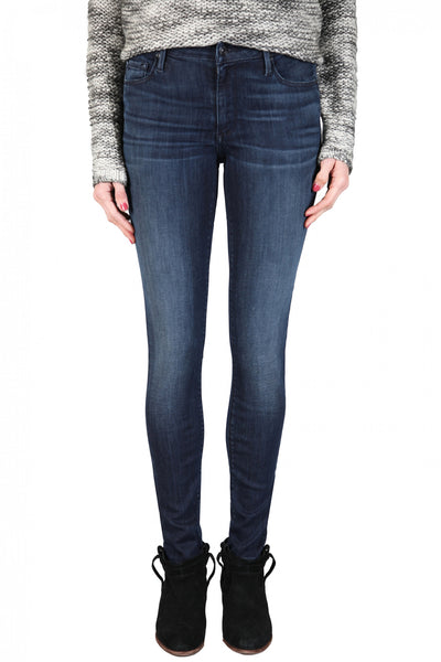 Black Orchid Jude Mid Rise Super Skinny in Valiant
