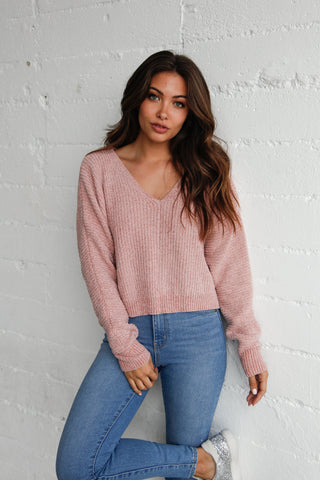 Shine On Chenille Sweater