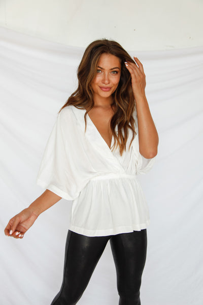 Whitney V Neck Top