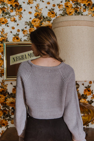 Dreaming Of You Crop Sweater