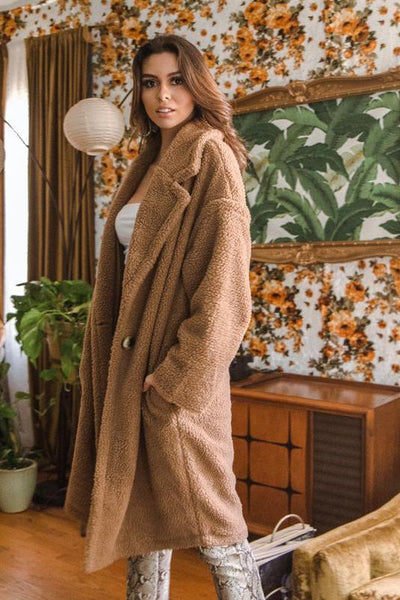 Dawn To Dusk Teddy Coat