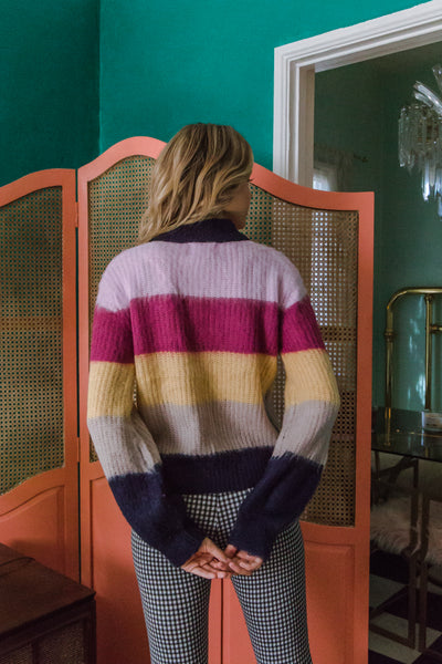 San Francisco Striped Sweater
