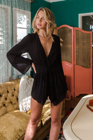 Fresh Start Tie Romper