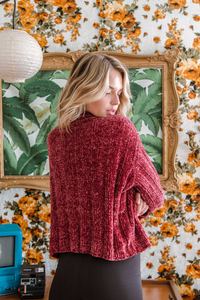 Sky High Chenille Sweater