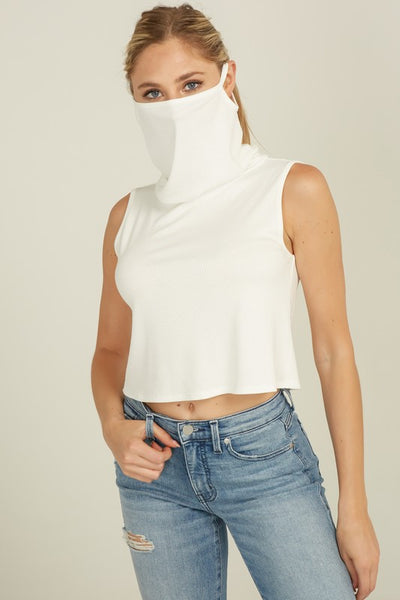 Moving On Convertible Mask Top