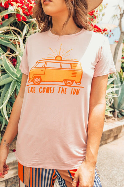 Here Comes The Sun Doheny Tee