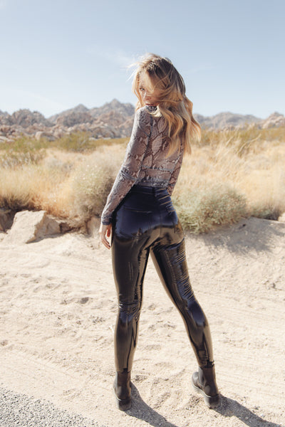 Bella Patent Leather Pants