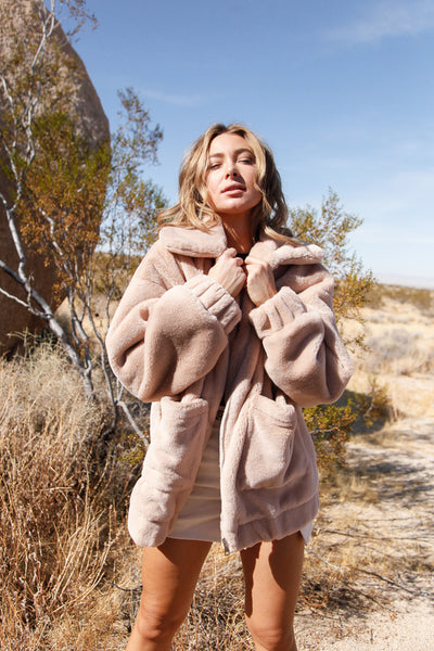 Native Daughters New Crush Faux Fur Coat