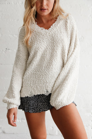 Native Daughters Runaway Popcorn Sweater