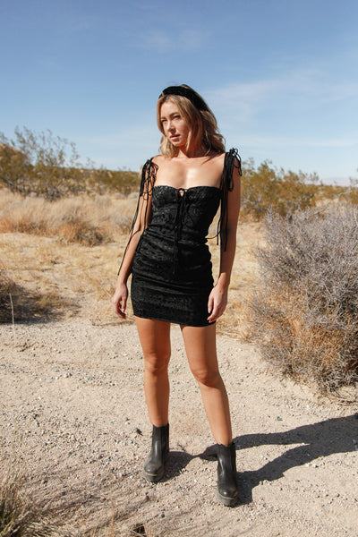 Native Daughters Karina Mini Dress