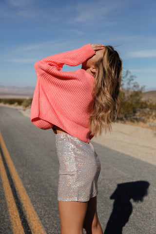 Ramblin' Rose Sequin Skirt