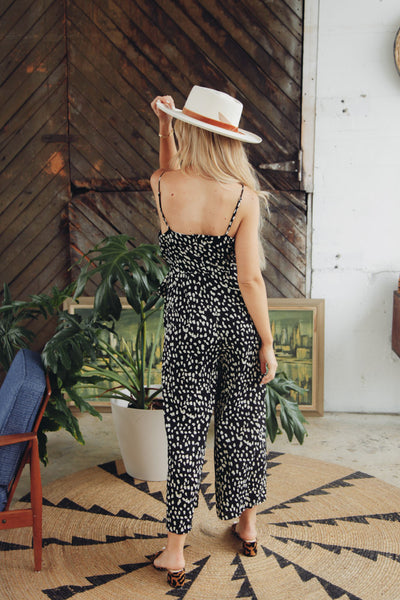 Safari Spotted Jumpsuit
