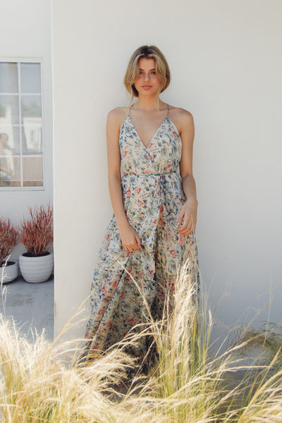 All The Light Floral Maxi Dress