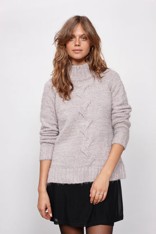 MINKPINK Now & Then Chunky Jumper