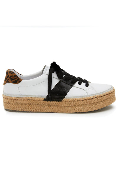 Matisse It Girl Platform Sneaker In Leopard