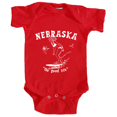 Surf Nebraska One-Piece