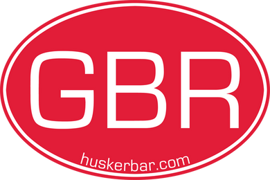 Classic GBR Oval Decal