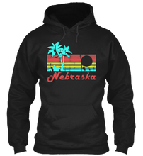 Load image into Gallery viewer, Nebraska The Aloha State Hoodie
