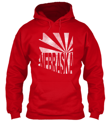 Arizona for Nebraska Hoodie