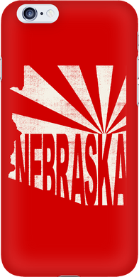 Arizona for Nebraska Iphone 6 Case
