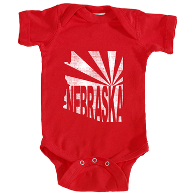 Arizona for Nebraska One-Piece