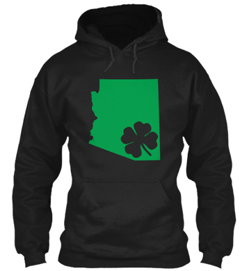 St. Patty's for Arizona Hoodie