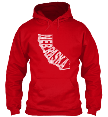 California for Nebraska Hoodie