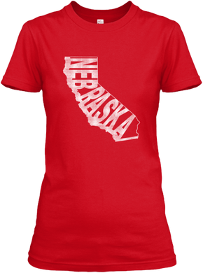 California for Nebraska Women's T