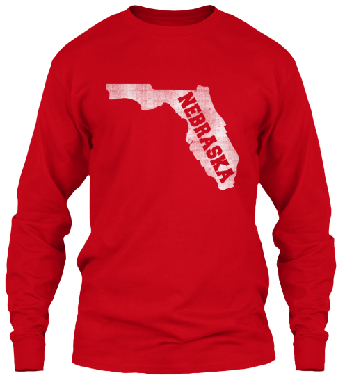 Florida for Nebraska Long Sleeve