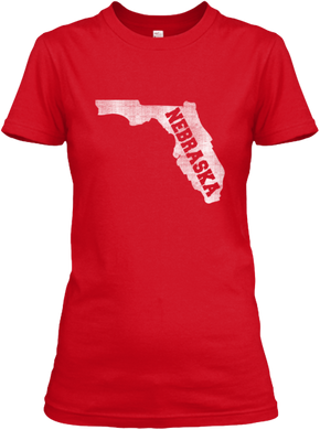 Florida for Nebraska Women's T