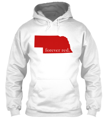 The White Collection - Forever Red Hoodie