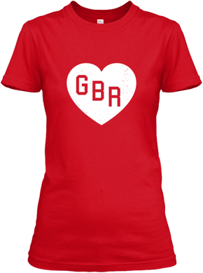 I Heart GBR Women's T