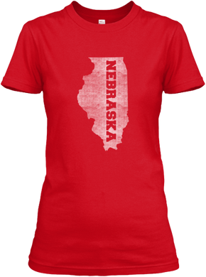Illinois for Nebraska Women's T