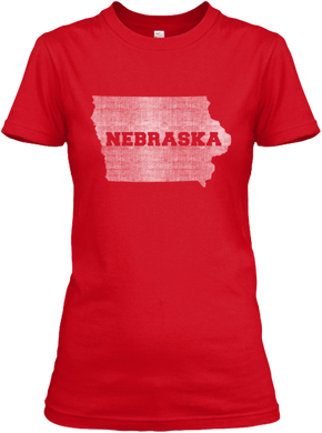 Iowa for Nebraska Women's T
