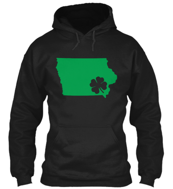 St. Patty's for Iowa Hoodie