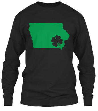 St. Patty's for Iowa Long Sleeve