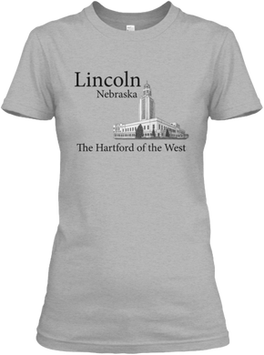 Lincoln - The Hartford of the West Women's T