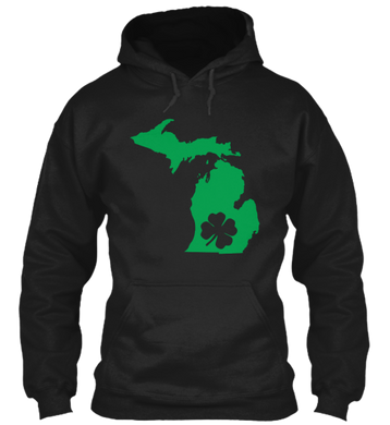 St. Patty's for Michigan Hoodie