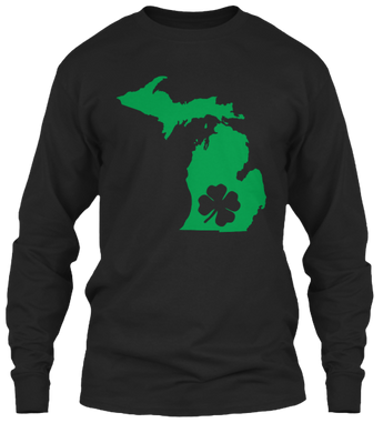 St. Patty's for Michigan Long Sleeve