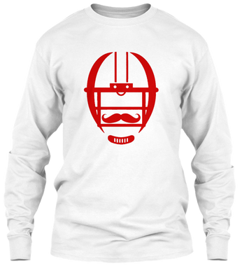 The White Collection - Mustache Long Sleeve
