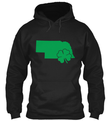 St. Patty's for Nebraska Hoodie